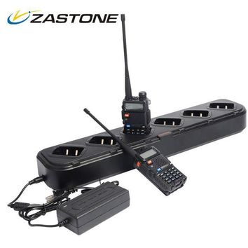 ONETOW Zastone Charger For Walkie Talkie Baofeng UV5R Six Way Charger for Baofeng UV-5R High Quality Accessories Handheld Radio Charger