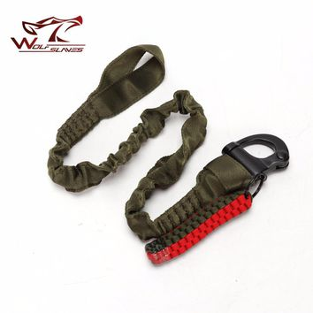 Tactical Protective Rope Quick Release Line Climbing Safety Strap For Outdoor Hunting