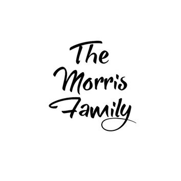 Family name decal, front door sign, welcome sign decal, custom decal, custom sticker, front door vinyl decal, 2 inch vinyl letters