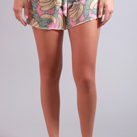 wildfox: cutie shorts - banana print