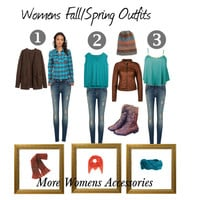 Womens Fall Spring Outfits & Accessories