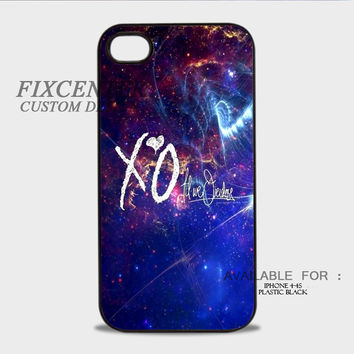 XO THE WEEKND Galaxy - iPhone 4/4S Case