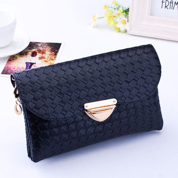Small Bag for Women Ladies Messenger Bags Casual Shoulder Bag Crossbody Black Clutch Purse Handbag Dollar Price INY66