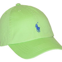 Polo Ralph Lauren Boys Classic Pony Logo Hat (2T-4T, Hampton Lime)