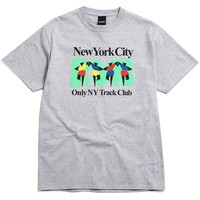 Track Club T-Shirt Heather Grey
