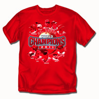 St. Louis Cardinals MLB 2011 World Series Champions Players Boys Tee (Large)