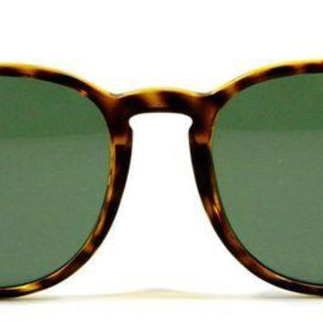 Kalete Ray Ban 4259 710 Havana Brown Tortoise Round Sunglasses 51mm New and Authentic