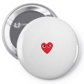 comme des garcons play Pin-back button