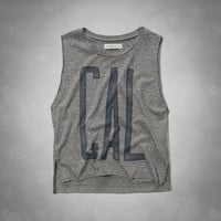 Collegiate Graphic Muscle Tanks