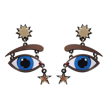 Shop - Starry eyed earrings | Made by Yazbukey, selected by Valery Demure |