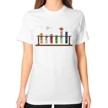 Muppet Science Unisex T-Shirt (on woman)