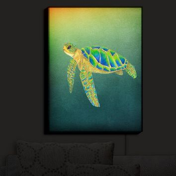 Illuminated Wall Art By Catherine Holcombe Syndney Seaturtle