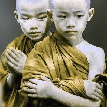 Spiritual Twin Boys - Art Print