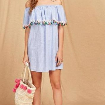 Moroccan Dream Mini Dress