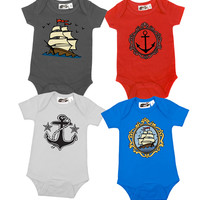 Nautical 4 One Piece Set