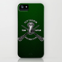 Harry potter Slytherin quidditch team apple iPhone 3, 4 4s, 5 5s 5c, iPod & samsung galaxy s4 case cover