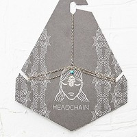 Hamsa Hand Head Chain in Gold - Urban Outfitters