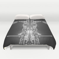 What do you see II Duvet Cover by HappyMelvin
