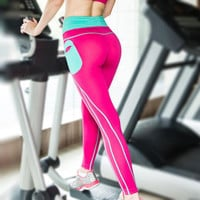 Sports ClothingTights Women Fitness Pants Sexy Yoga Pants Tight Yoga Leggings Running Fitness Pants Women Sportswear Fitness