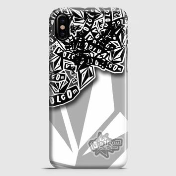 Volcom Inc Apparel And Clothing Stickerbomb iPhone X Case | casescraft