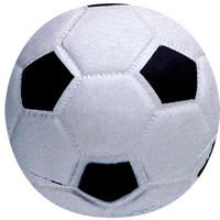 Pet Supply Imports Latex Soccer Ball Squeak Dog Toy  3""