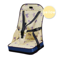 Patented product safety Portable baby seat dining chairs Ni Ya Mummy bag essential maternal infant   YELLOW