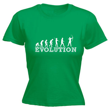 123t USA Women's Evolution Archery Funny T-Shirt