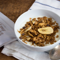 Chocolate, Peanut Butter, Banana Granola