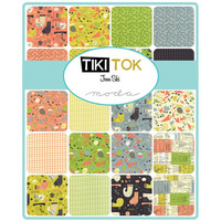 Tiki Tok Fat Eighth bundle by Jenn Ski for Moda Fabrics