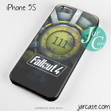 Fallout 4 111 Phone case for iPhone 4/4s/5/5c/5s/6/6 plus
