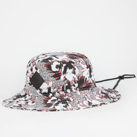 Lrg Destination Mens Bucket Hat White One Size For Men 25627615001