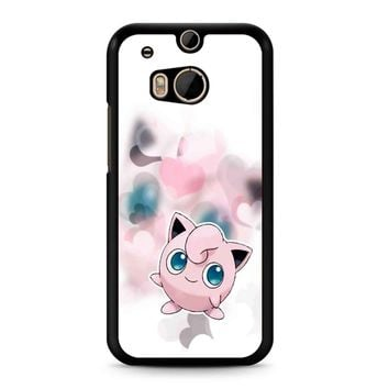 Pokemon Jigglypuff 2 HTC M8 Case