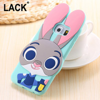 3D Cartoon Zootopia Nick Wilde Case For Samsung Galaxy S5 S6 S6Edge S7 S7 Edge Soft Silicone Fundas Coque Back Cover Phone Cases