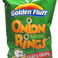 Golden Fluff Onion Flavored Rings Snacks – VeganEssentials Online Store