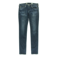 Adriano Goldschmied Womens Aubrey  Denim Low Rise Straight Leg Jeans