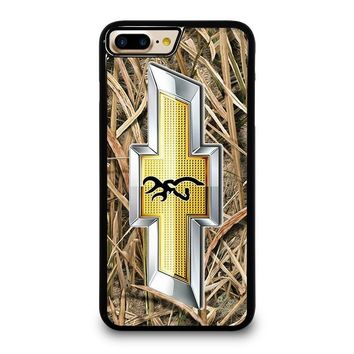 CAMO BROWNING CHEVY iPhone 4/4S 5/5S/SE 5C 6/6S 7 8 Plus X Case
