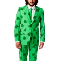 St. Patrick's Day Irish Shamrock Party Suit (a.k.a The Celtic Gentleman)
