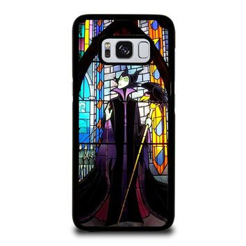 MALEFICENT DISNEY SLEEPING BEAUTY  GLASS Samsung Galaxy S3 S4 S5 S6 S7 S8 Edge Plus Note 3 4 5 8 Case