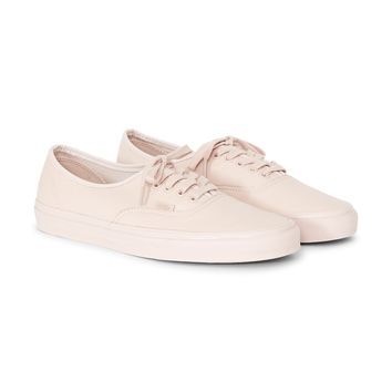 Vans UA Authentic Leather Plimsoll Pink