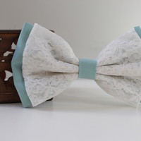 Shabby Chic Lace Bow