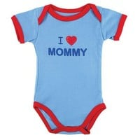 Baby Sayings Bodysuit – Family Boy, Mommy | Affordable Infant Clothing