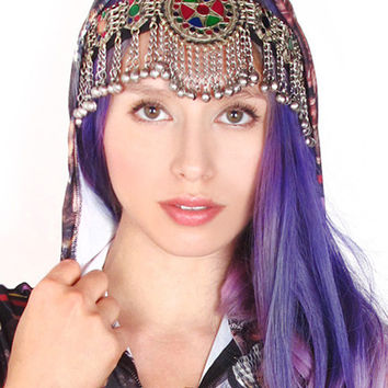Afghan 2-Strap Circle Headpiece - 50% OFF