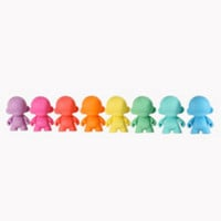 MUNNYWORLD mini MUNNY 4-Inch Multicolor Edition | Kidrobot