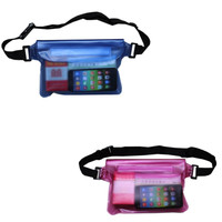 Super Sealed PVC Waterproof Beach Swimming Waist Bag Pouch