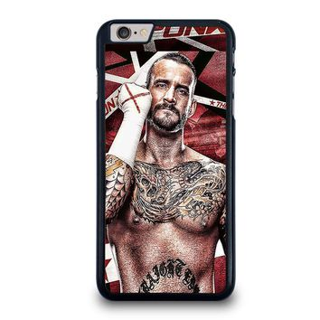 cm punk gloves iphone 6 6s plus case cover  number 1