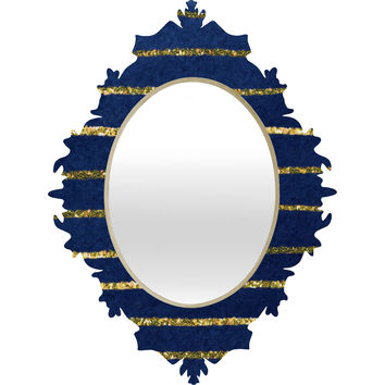 Social Proper Nautical Sparkle Baroque Mirror