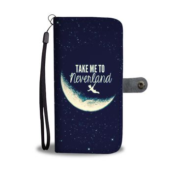 'Take Me To Neverland' [Peter Pan] Wallet Phone Case