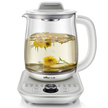 1.8L Heat Preservation Electric Kettle Flower Teapot Hot Tea Makers High Quality Electric Kettle Reservation