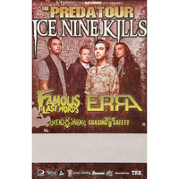 Ice Nine Kills Concert Promo Poster