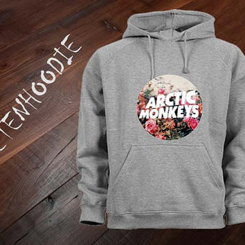 Arctic Monkeys flower hoodie sweatshirt jumper t shirt variant color Unisex size
